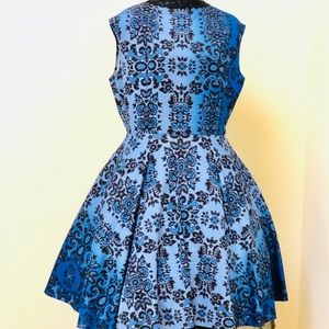 Summer Nites vintage Swing circle Dress 1950's